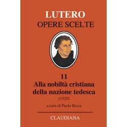Lutero Alla nobiltà...