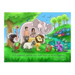Poster giardino dell'Eden