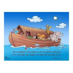 Poster Arca di Noè