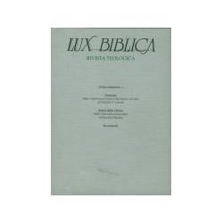 Lux Biblica 12 - Rivista...