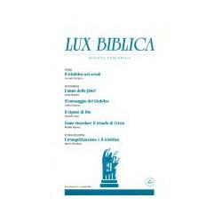 Lux Biblica 21 - Rivista...