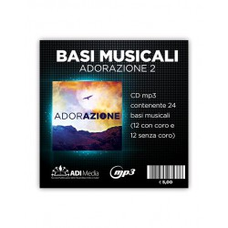 Adorazione 2 CD mp3 con 24...