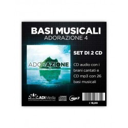 Adorazione 4 – CD audio +...