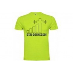 "T-shirt ""Stai connesso""..."