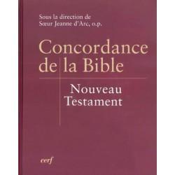 Concordance de la Bible...