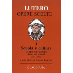 Lutero  Scuola e cultura