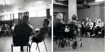 Incontro con pastori e disabili Nick Vujicic