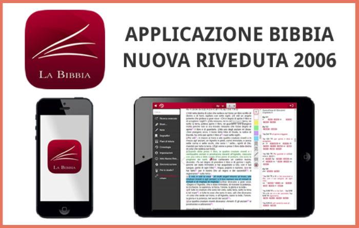Applicazione Bibbia Nuova Riveduta 2006